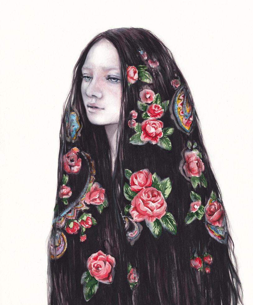 Like a shawl by oksanadimitrenko