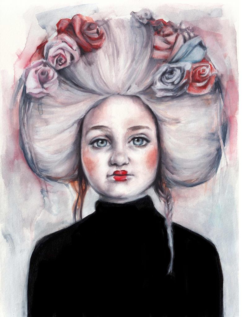 Antoinette by oksanadimitrenko