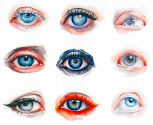 collect eyes2 by oksanadimitrenko