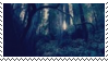 forest aesthetic stamp