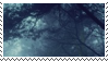 blue forest aesthetic stamp