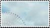 blue ferris wheel aesthetic stamp by hematology