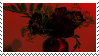 red roses aesthetic stamp by hematology