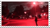red glow aesthetic stamp by hematology