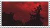 red aesthetic stamp