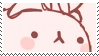 pink bunny aesthetic stamp by hematology