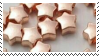 golden star beads aesthetic stamp by hematology