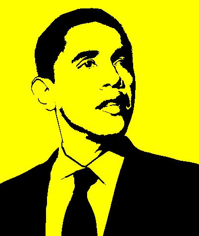 obama stencil by kerblotto on deviantart
