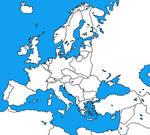 Europe 1930 Blank