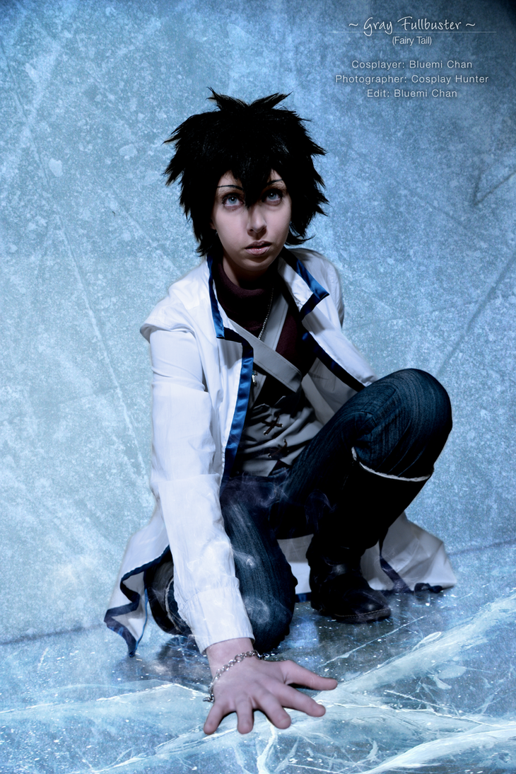 gray fullbuster ice make by bluemichan on deviantart