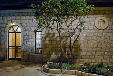 Evening garden Jerusalem by dpt56