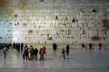 Western Wall Jerusalem by dpt56