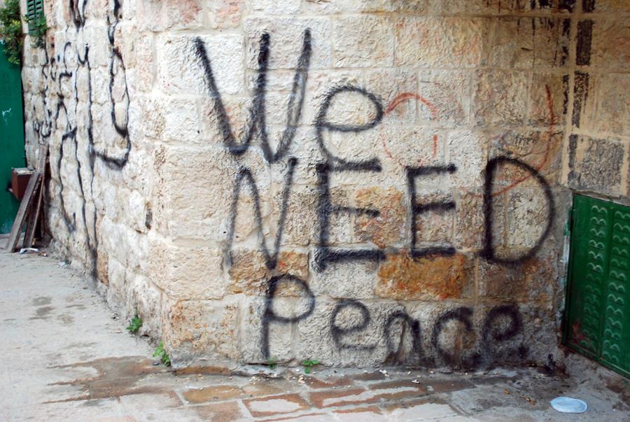 Good graffiti, Jerusalem