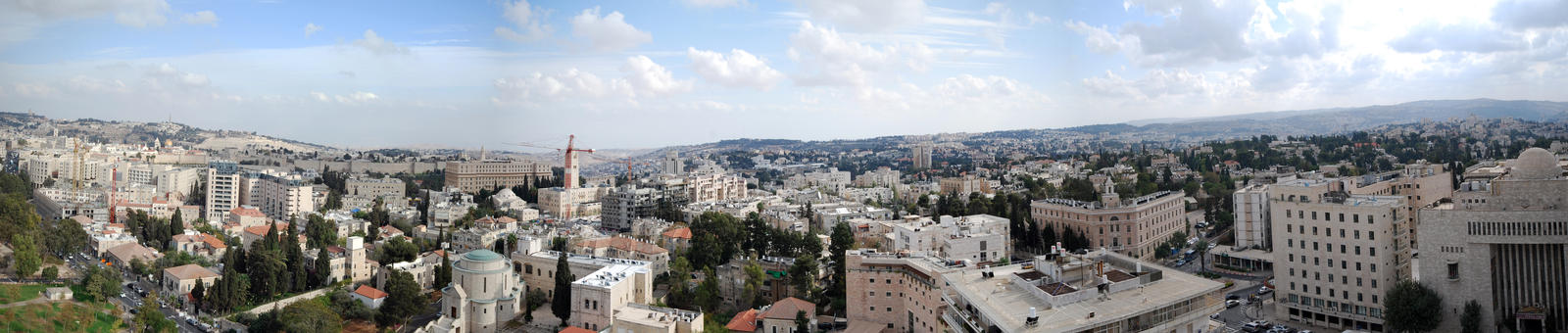 Jerusalem Panorama 2010, 1 by dpt56