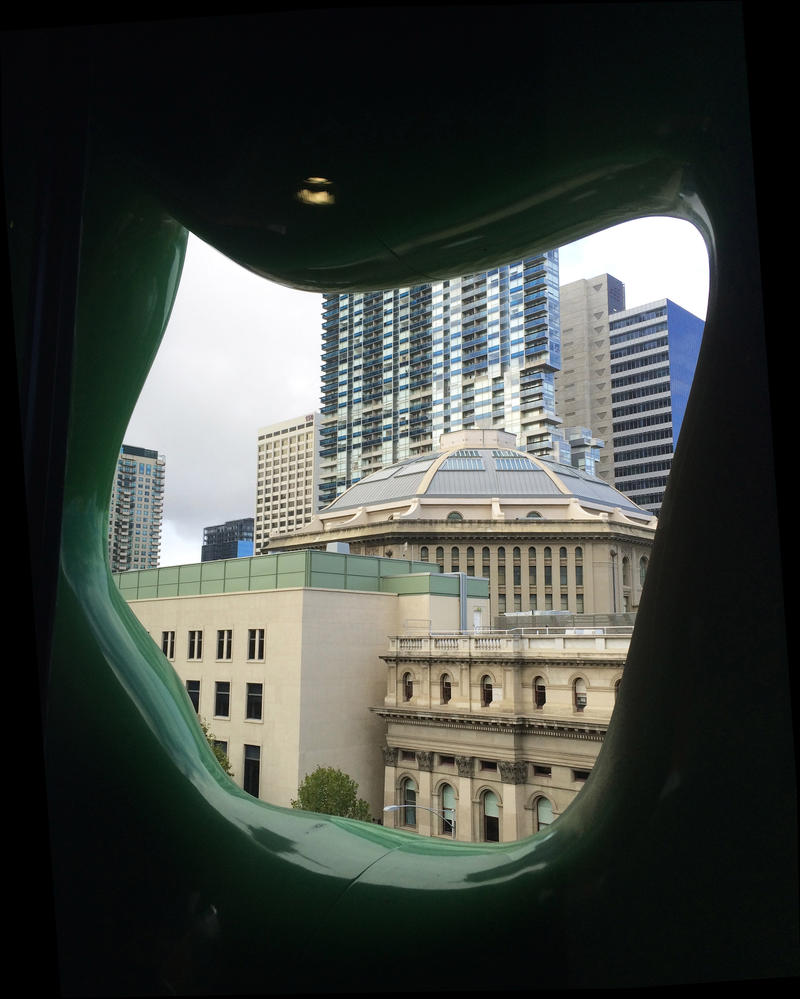RMIT view of the State Library, Melbourne by dpt56