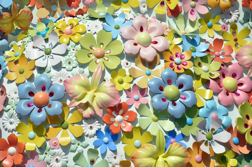 Metal flowers by dpt56