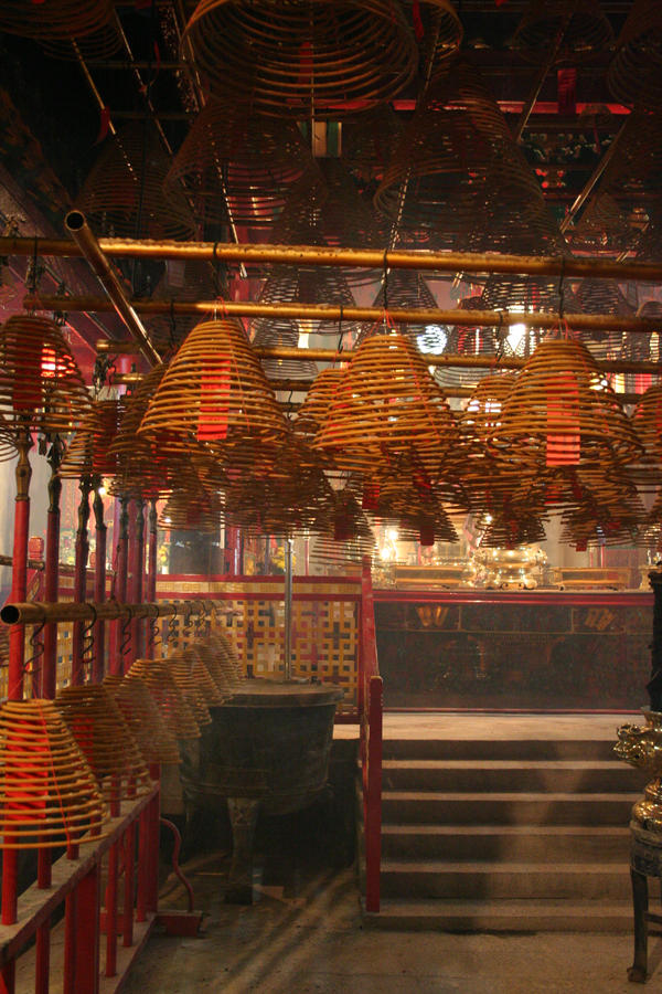 Man Mo Temple, Hong Kong by dpt56
