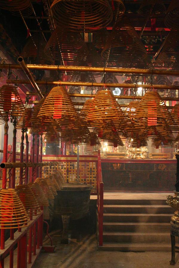 Man Mo Temple, Hong Kong by dpt56
