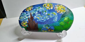 Gogh Rock- Starry Night by Suzingchips