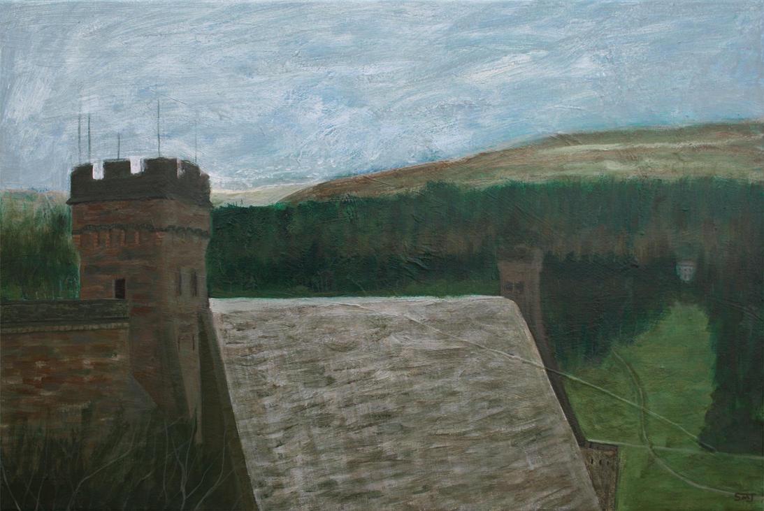 Derwent Dam by ShaunMichaelJones