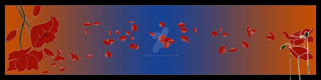 Poppy Scarf by Kamikashi