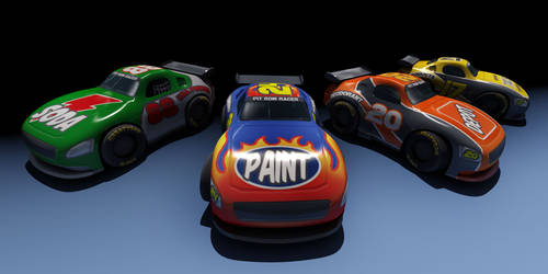 Pit Row Racer