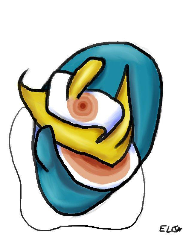 Masquerade - Abstract Mask by hotcheeto89