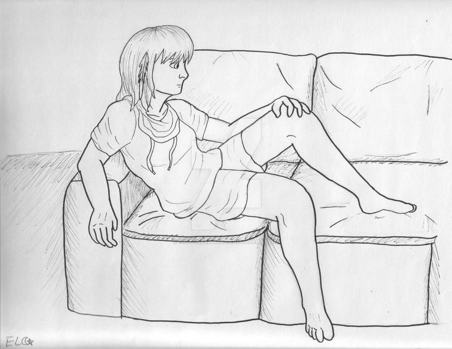 Self Portrait in Manga Form by hotcheeto89