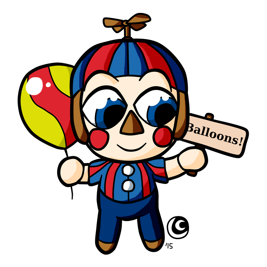 Balloon Boy Chibi by hotcheeto89