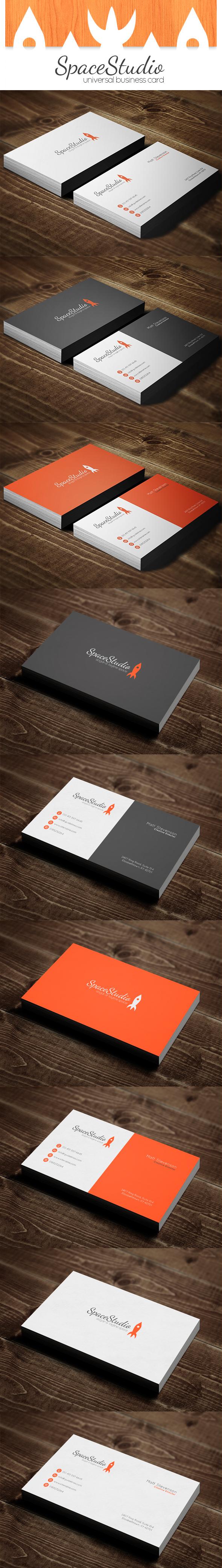 Rocket Business Card DOWNLOAD by polska753