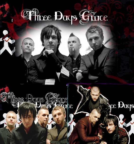 Three Days Grace 2 by xXxOnexXxX