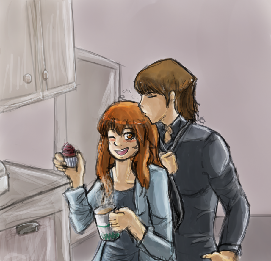 Breakfast time by edenclover