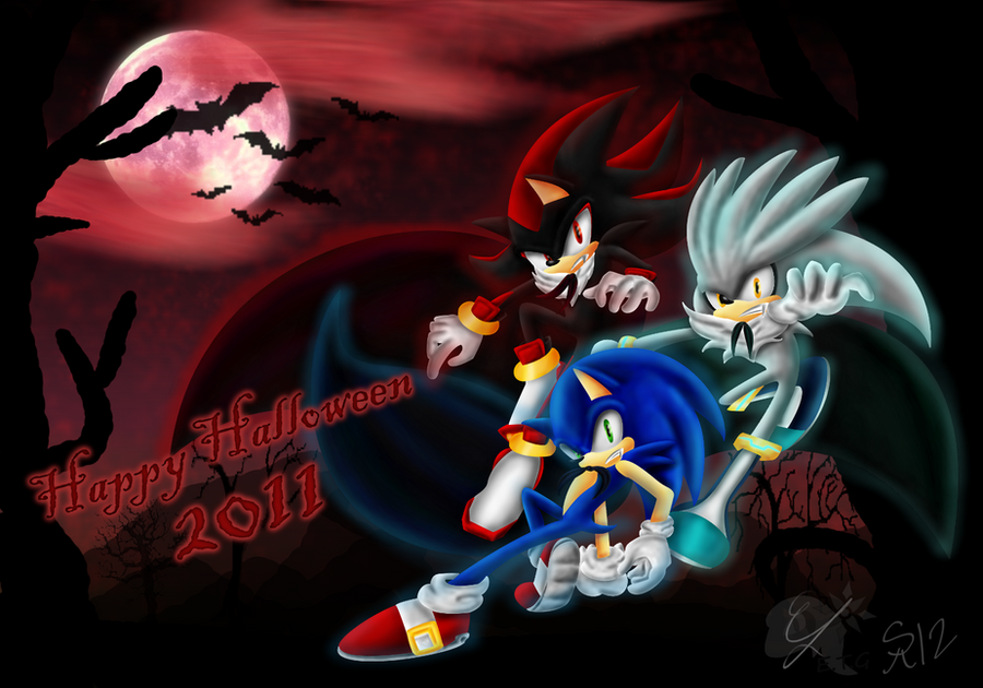 Dark Sonic Halloween 2011 by ShadowReaper12