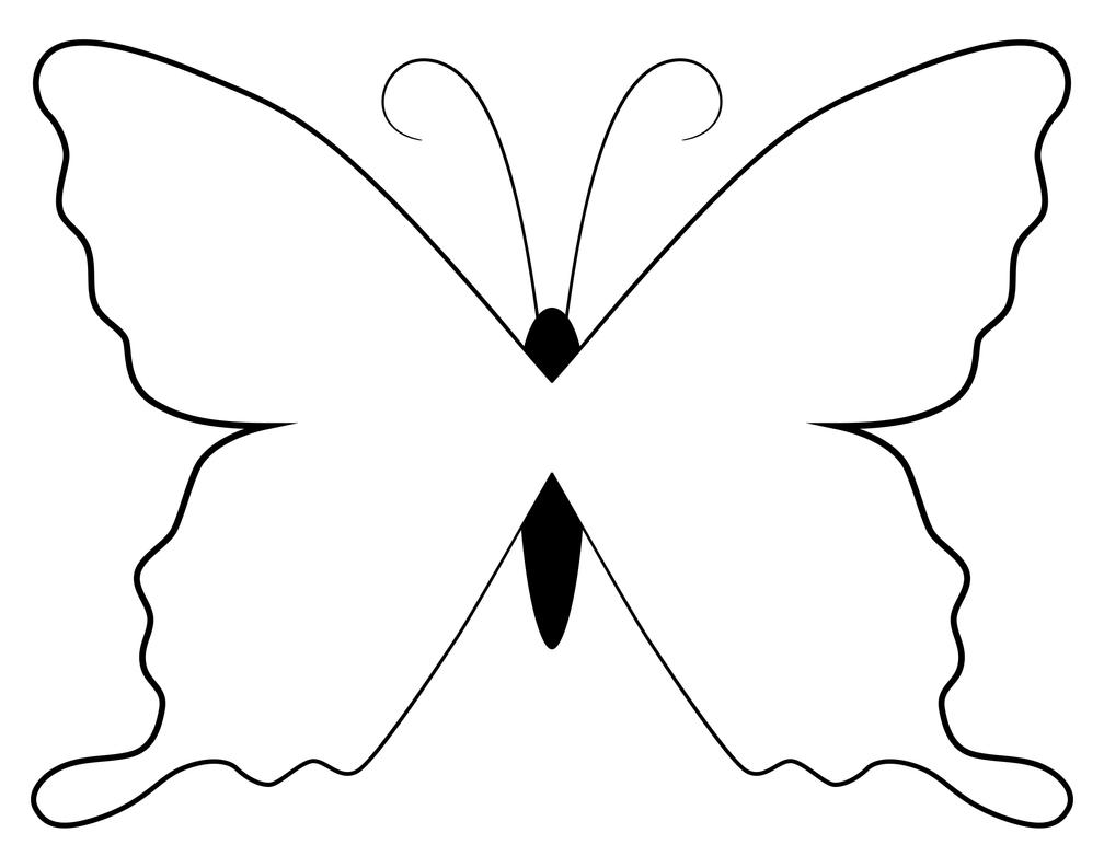 Butterfly lineart colouring page by SwanStarDesigns