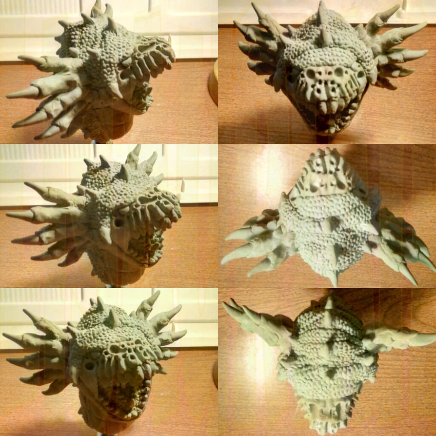 Thrifere head unhooded 4 by Lisaurian