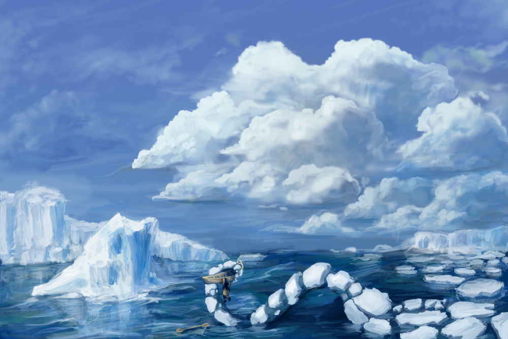 Beware the Ice Floes by ViridianMoon