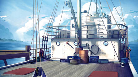 Boat Background - Day