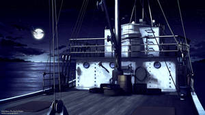 Boat Background - Night
