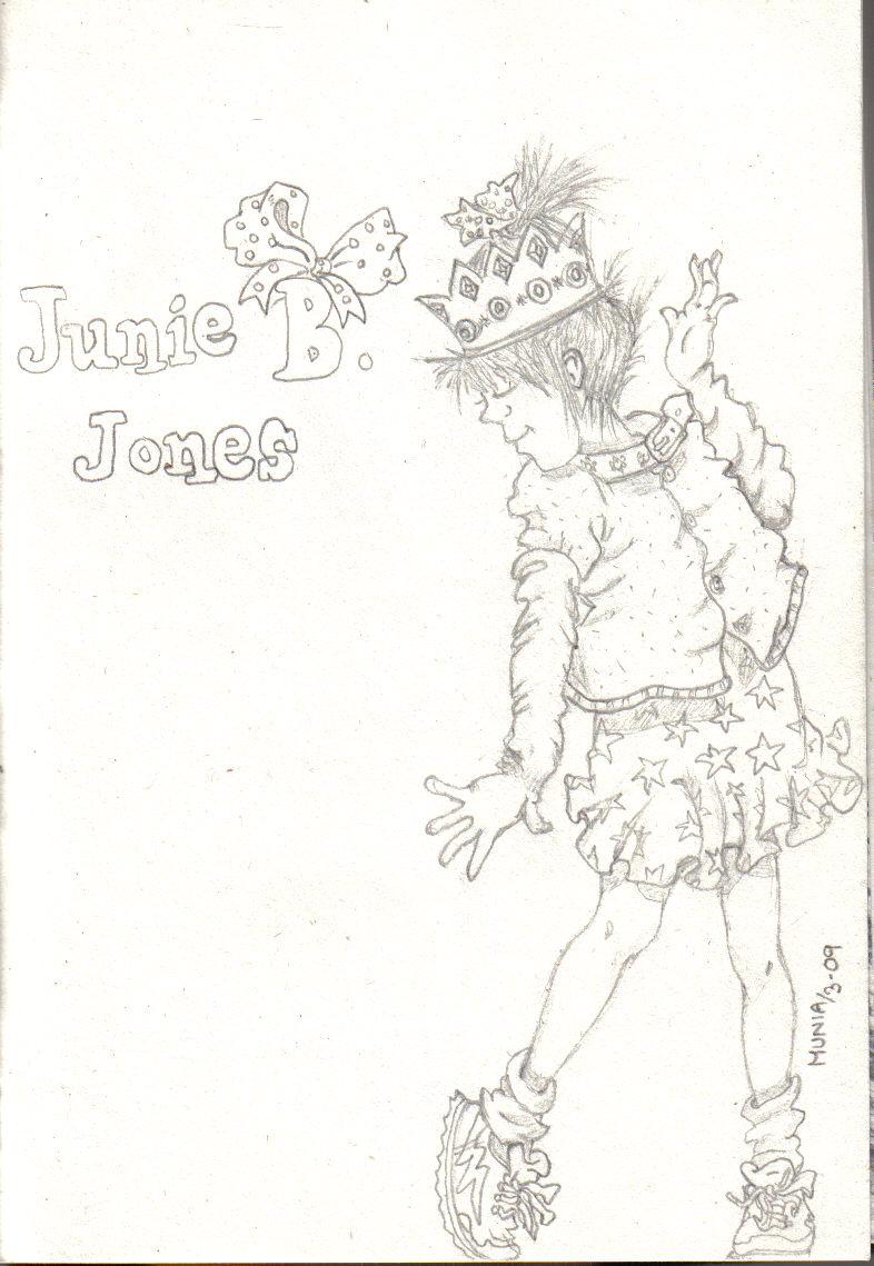 junie b jones coloring pages - junie b jones by everything94 on deviantart