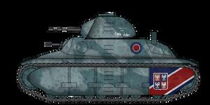 Fortnum F1 Light Tank
