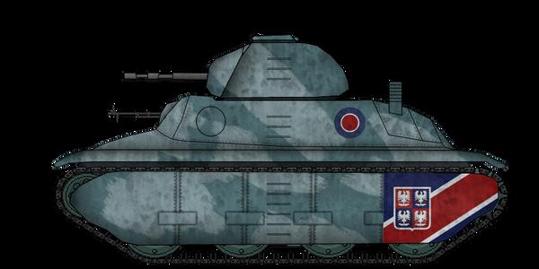 Fortnum F1 Light Tank [update] by AdmiralSerenity