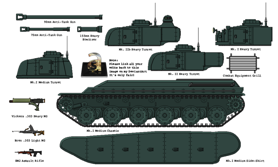 Build Your Own Fortnum M1 Heavy Tank By Admiralserenity