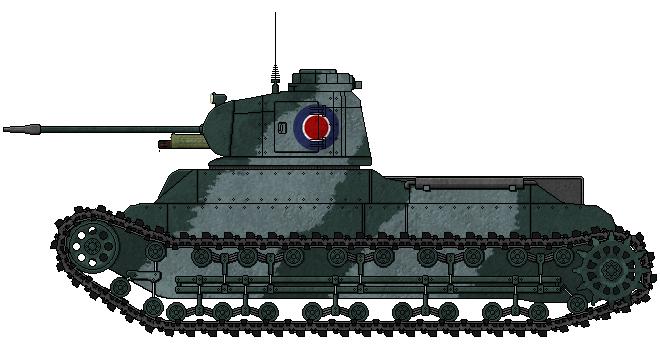 [ALC] 'Rapier' Mk.I Medium Tank by AdmiralSerenity