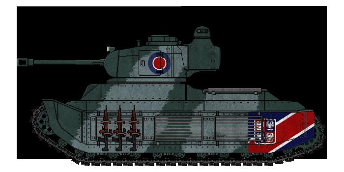 [ALC] 'Rapier' Mk.Ib Medium Tank by AdmiralSerenity