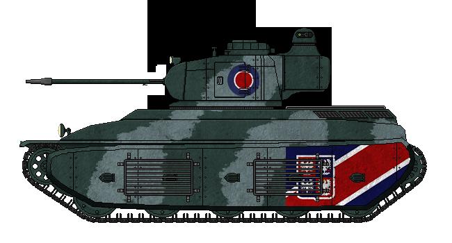 Fortnum F2b Medium Tank by AdmiralSerenity