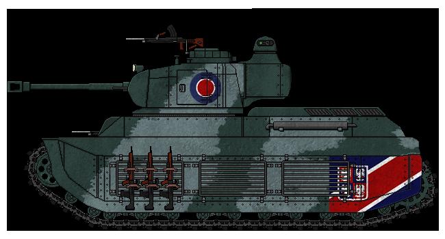[ALC] 'Rapier' Mk.II Medium Tank by AdmiralSerenity