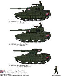 Arcandian Medium Tank [JG Cold War/Modern] by AdmiralSerenity