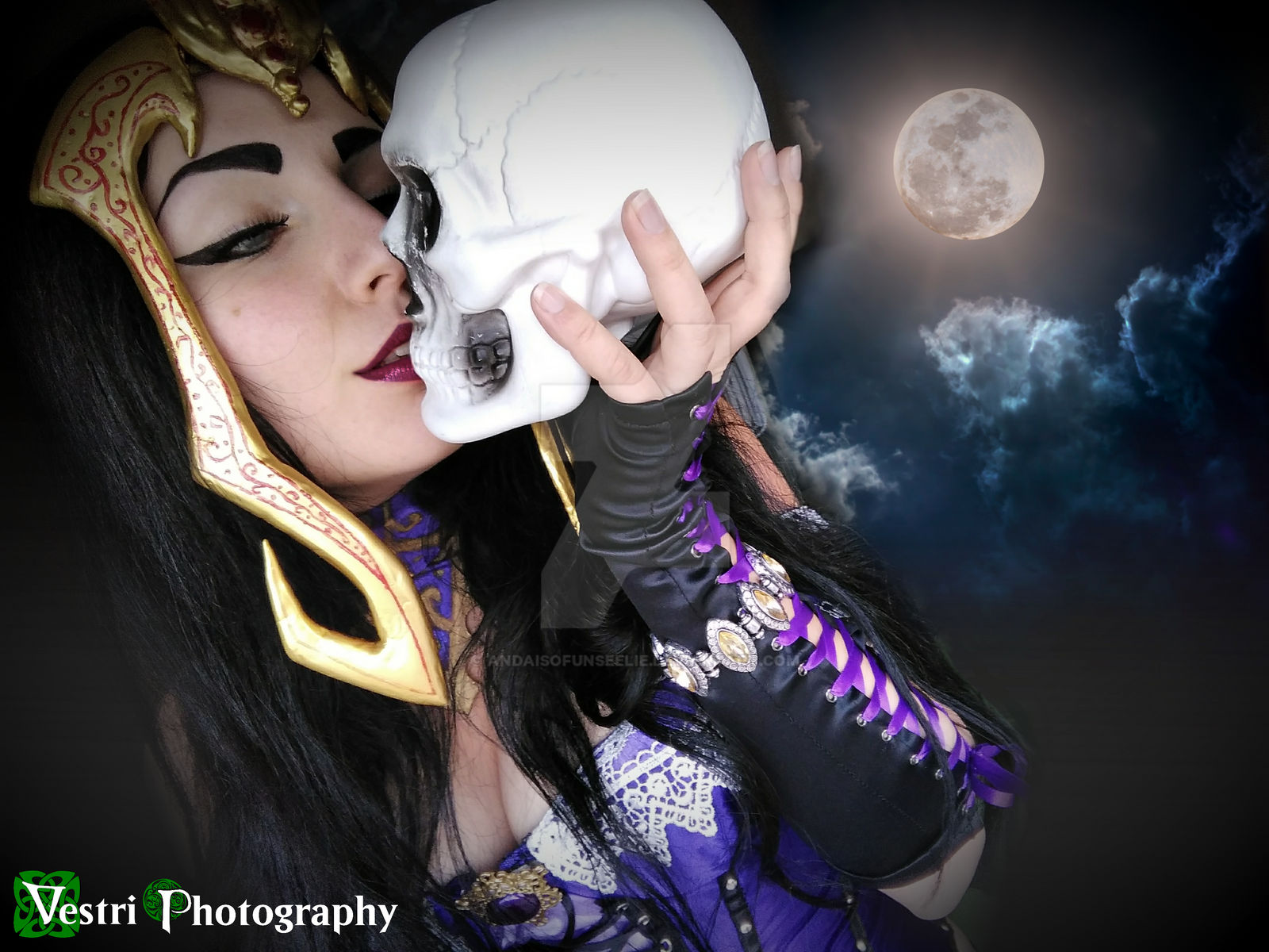 Liliana Of The Veil Cosplay By Andaisofunseelie On Deviantart