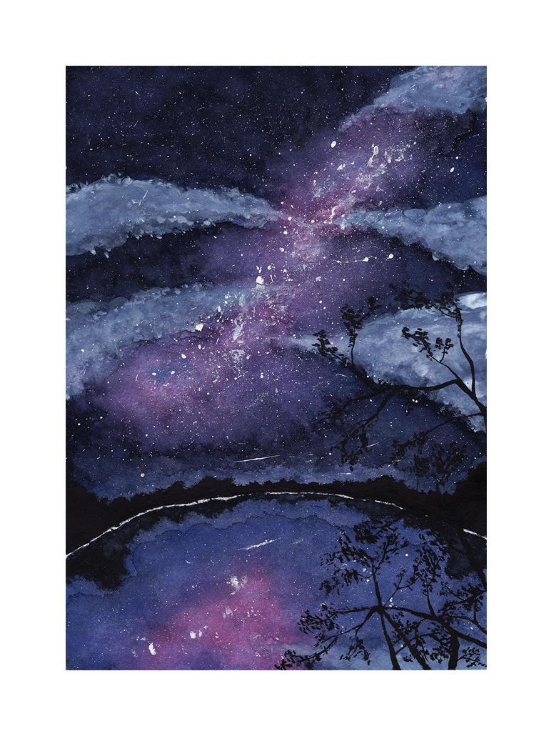 Galaxy Lake by LiLaYpSi