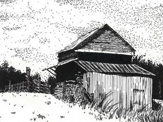 Rustic Barn by xxIridescent
